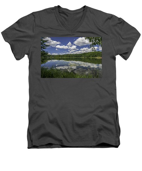 Trout Lake Men's V-Neck T-Shirt