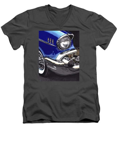 True Blue '57 Men's V-Neck T-Shirt