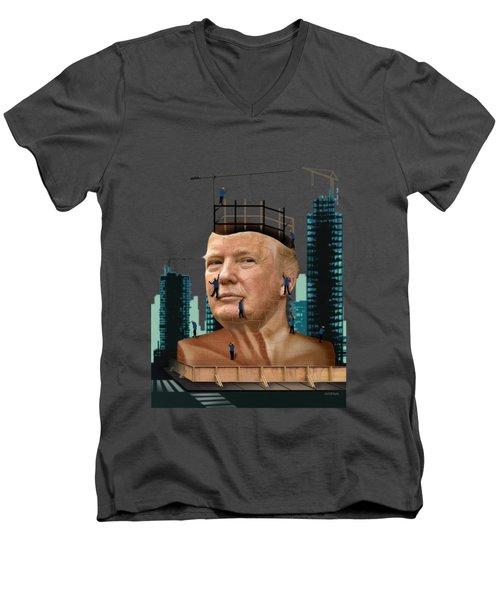 Trump Tower Men's V-Neck T-Shirt