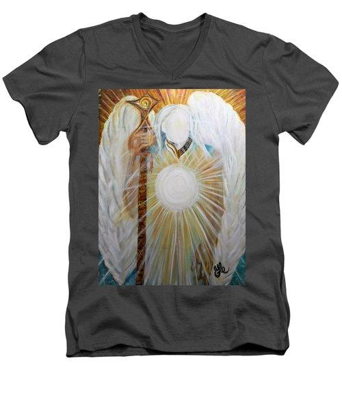 Trust - Michaelarchangel Series Men's V-Neck T-Shirt