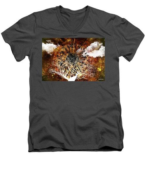 Try Everything Men's V-Neck T-Shirt