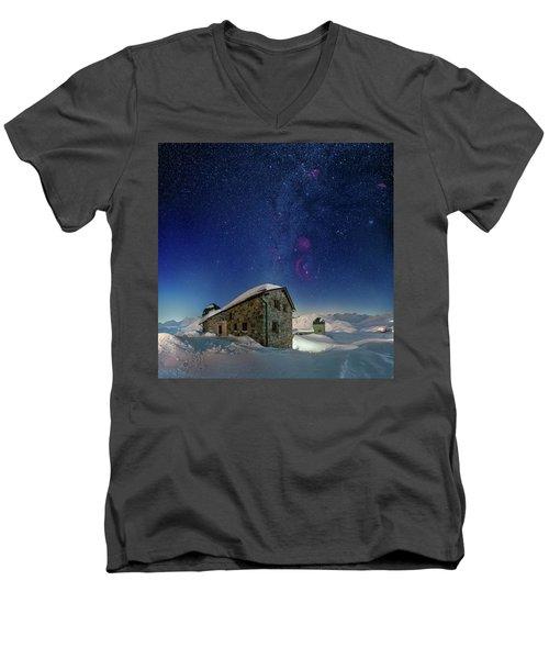 Tschuggen Observatory Men's V-Neck T-Shirt