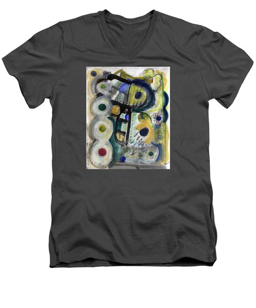 A Perfect Cloudy Day Men's V-Neck T-Shirt