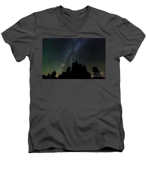 Tufa Nights Men's V-Neck T-Shirt
