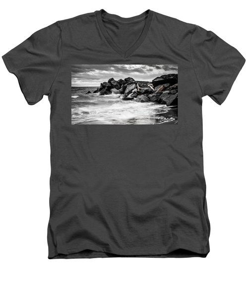 Tugboat Cove Men's V-Neck T-Shirt