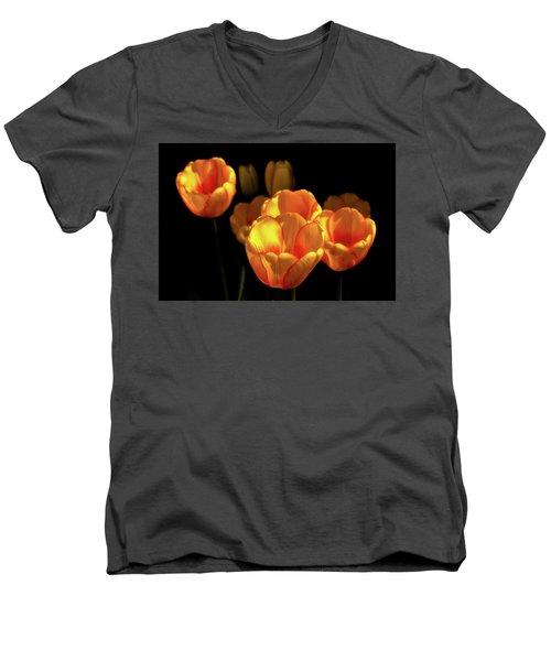 Tulip Festival Participants Men's V-Neck T-Shirt