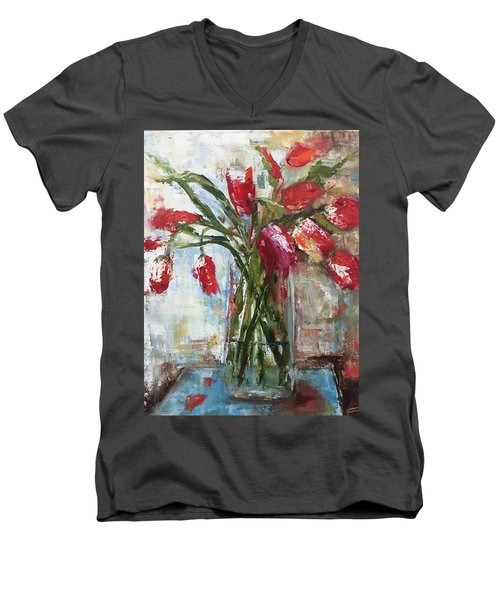 Lunch With The Ladies Men's V-Neck T-Shirt