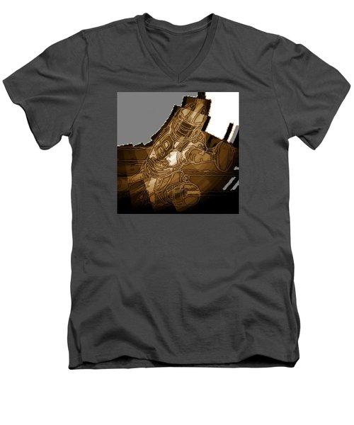Tumble 2 Men's V-Neck T-Shirt