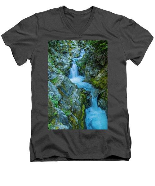 Tumbling Men's V-Neck T-Shirt