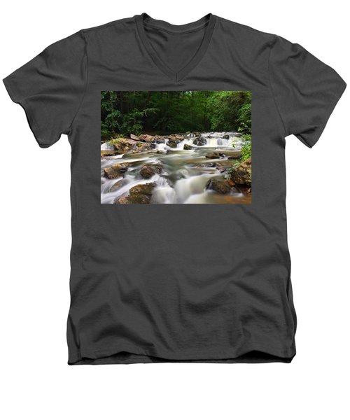Tumbling Waters Men's V-Neck T-Shirt