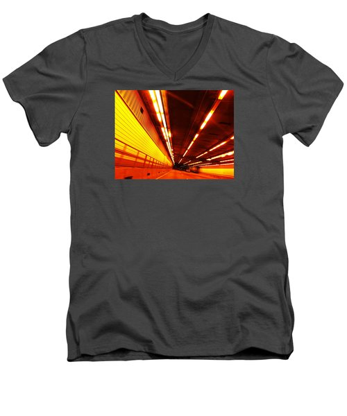 Tunnel Drive Men's V-Neck T-Shirt