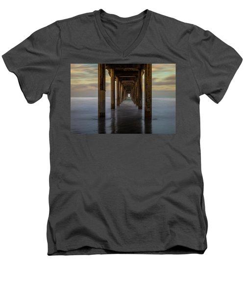 Tunnelscape Men's V-Neck T-Shirt