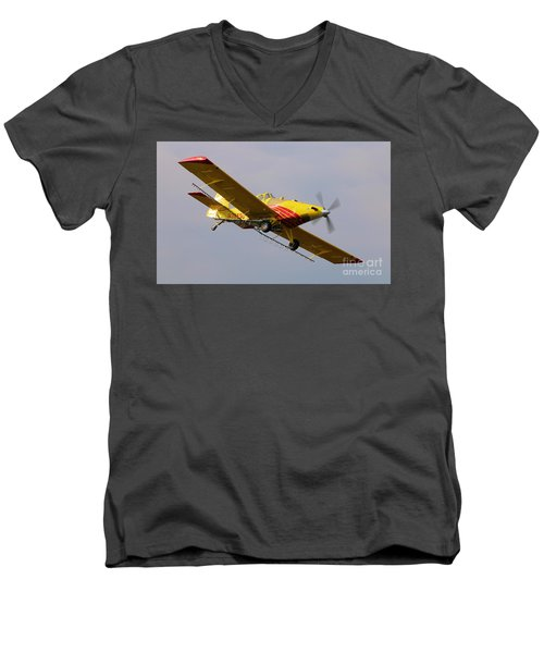 Turbo Thrush 4 Men's V-Neck T-Shirt