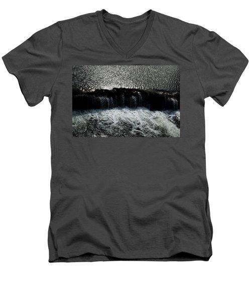 Turbulent Water Men's V-Neck T-Shirt