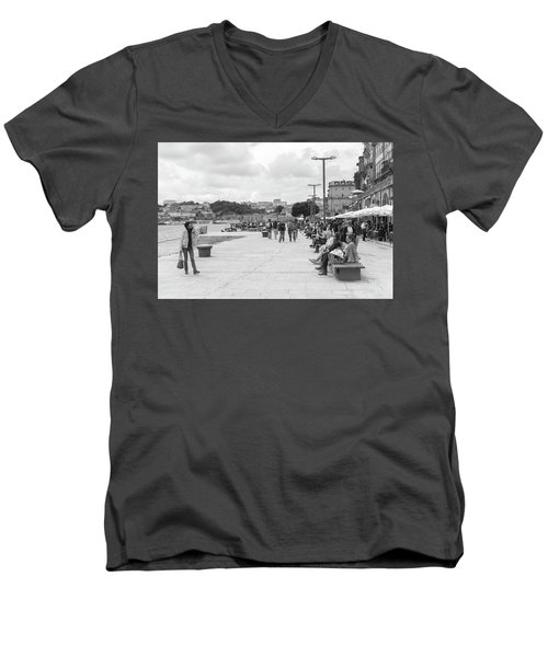 Tourism Men's V-Neck T-Shirt