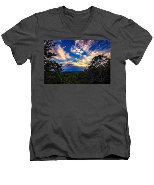 Turn Down The Lights. Men's V-Neck T-Shirt