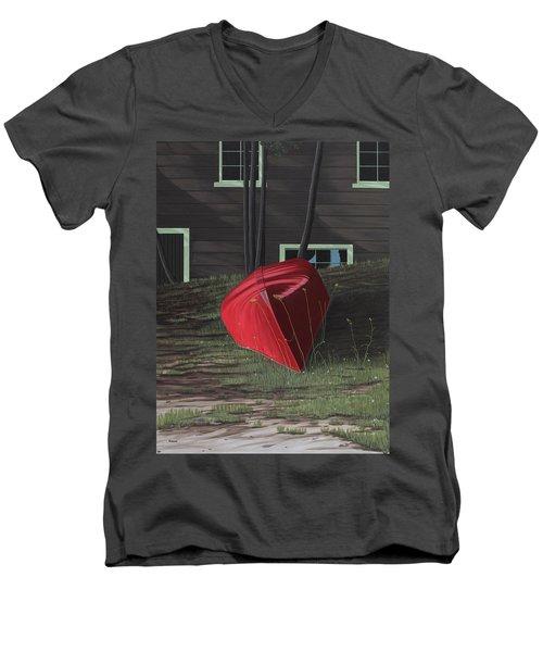 Turned Down Day Men's V-Neck T-Shirt