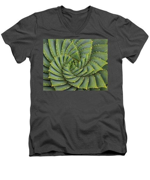 Turning Men's V-Neck T-Shirt