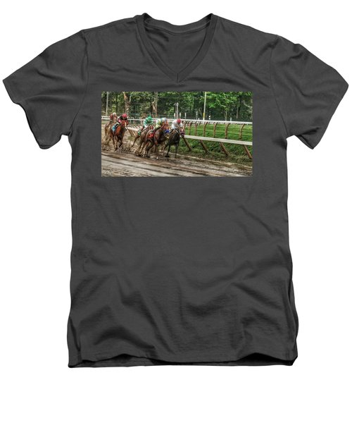 Turning The Mud Men's V-Neck T-Shirt