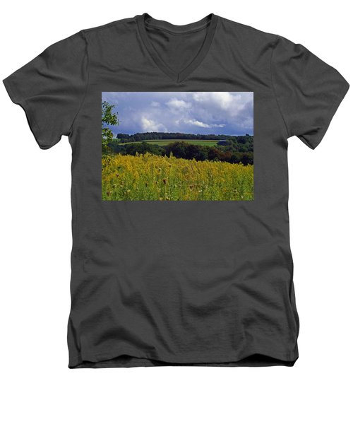 Turning The Page Men's V-Neck T-Shirt