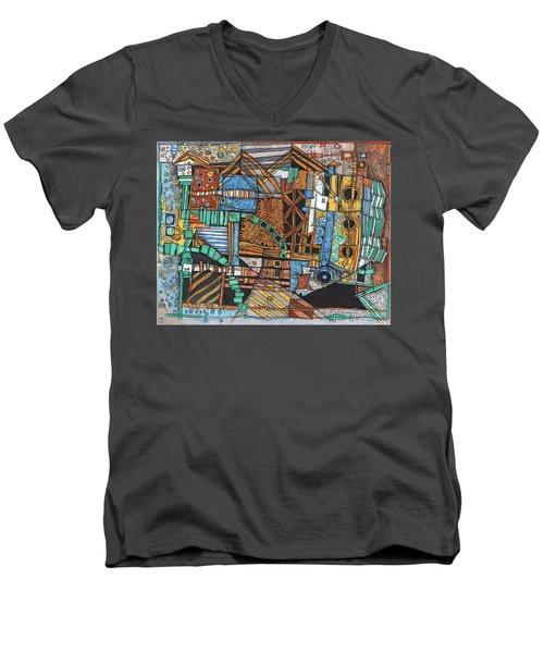 Infrastructure Men's V-Neck T-Shirt