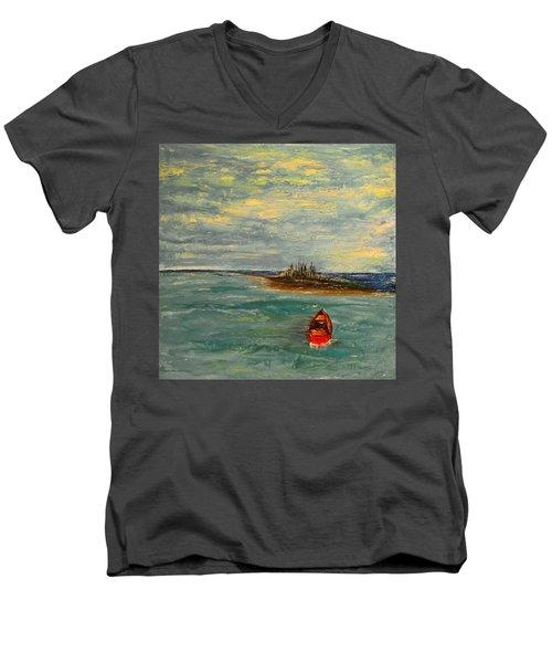 Turtle Bay Men's V-Neck T-Shirt