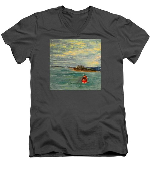 Turtle Bay Men's V-Neck T-Shirt