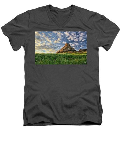 Turtle Rock At Sunset 2 Men's V-Neck T-Shirt