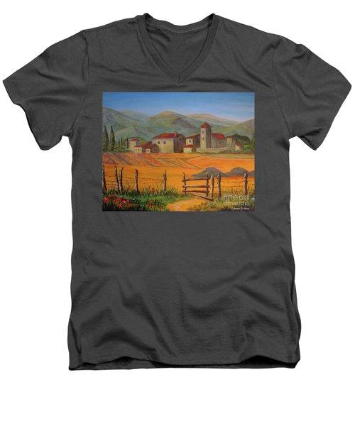 Tuscan Farm Men's V-Neck T-Shirt