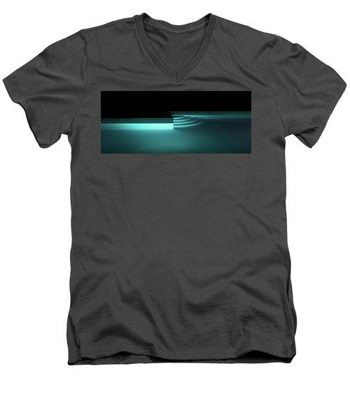 Tuscan Pool Men's V-Neck T-Shirt