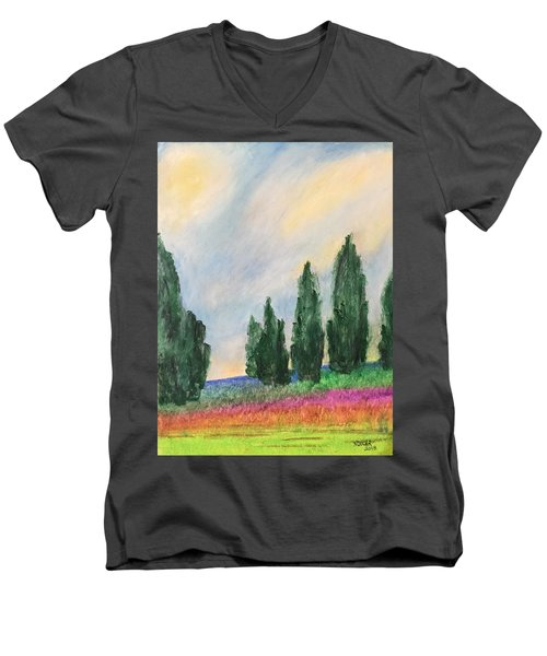 Tuscany Dream Men's V-Neck T-Shirt