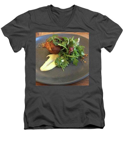 Twice Baked Binham Blue Cheese & Walnut Men's V-Neck T-Shirt by John Edwards