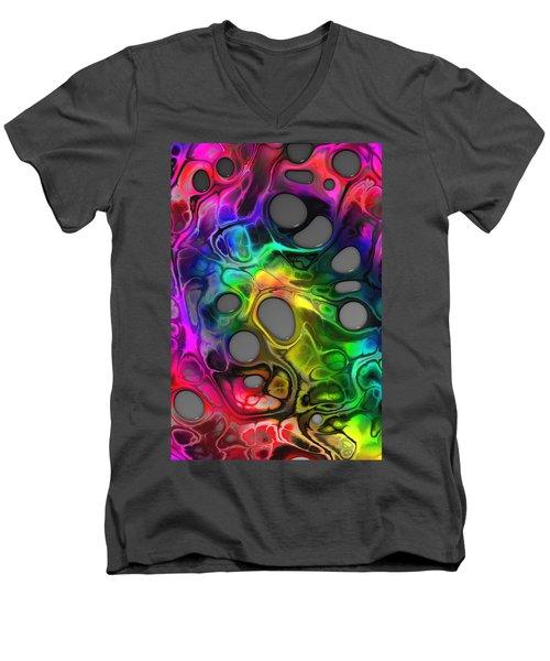 Twice Upon A Mind Men's V-Neck T-Shirt