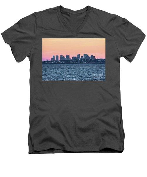 Twilight Boston Men's V-Neck T-Shirt