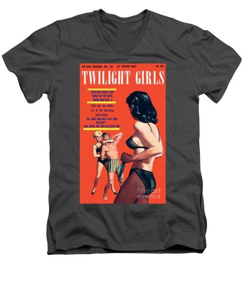 Twilight Girls Men's V-Neck T-Shirt
