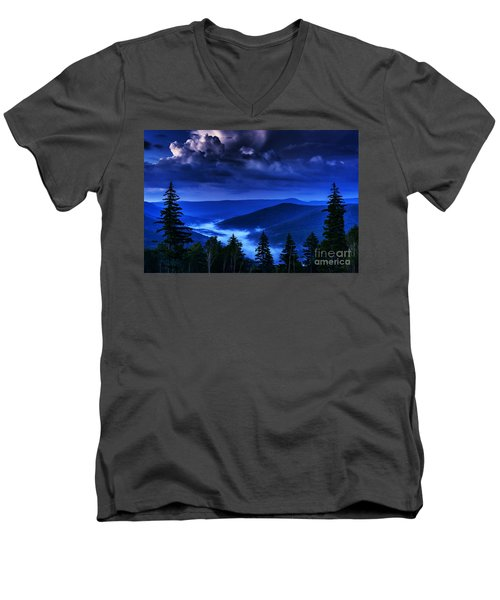 Twilight Thunderhead Men's V-Neck T-Shirt