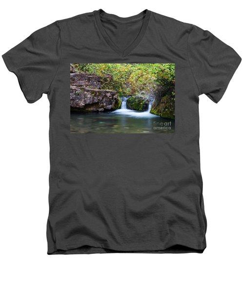 Twin Falls Men's V-Neck T-Shirt
