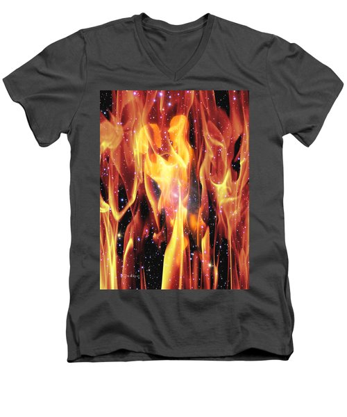 Twin Flames Men's V-Neck T-Shirt