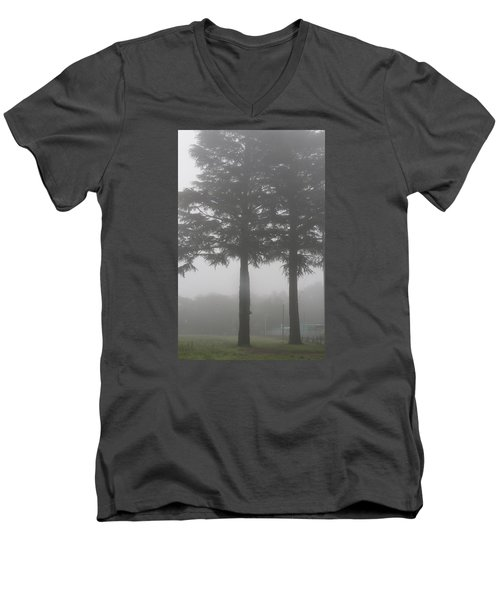 Twin Trees Men's V-Neck T-Shirt