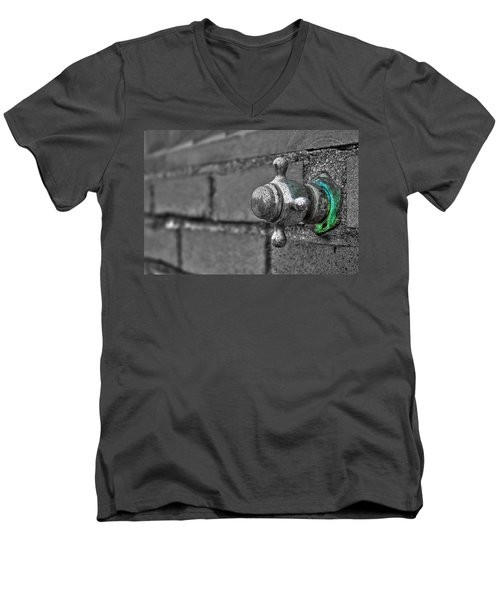 Twist And Turn Men's V-Neck T-Shirt