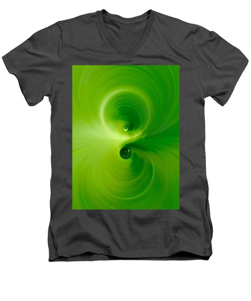 Twist Men's V-Neck T-Shirt by Andre Brands