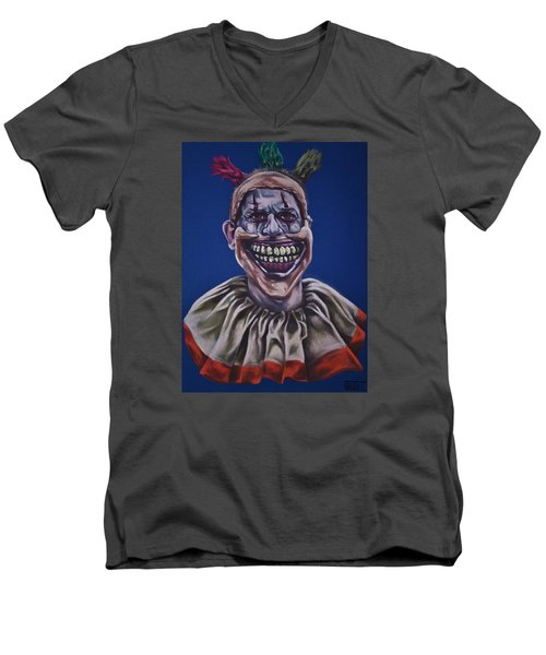 Twisty The Clown  Men's V-Neck T-Shirt