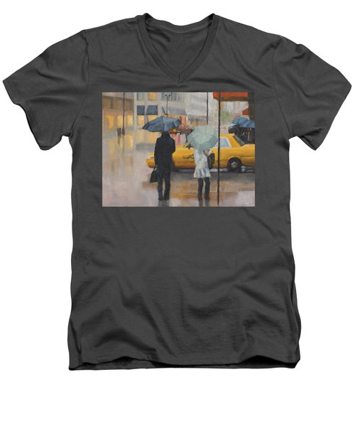 Two Curbside Men's V-Neck T-Shirt