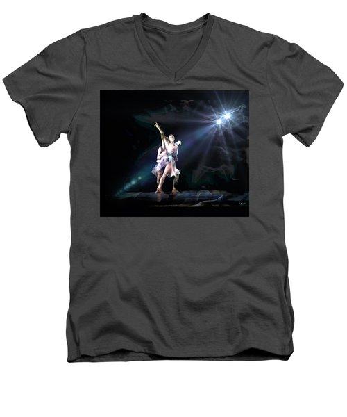 Two Dancers Men's V-Neck T-Shirt