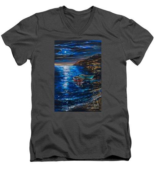 Two Dinghies Men's V-Neck T-Shirt