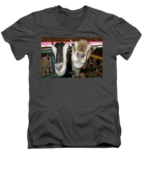 Two Goats Men's V-Neck T-Shirt