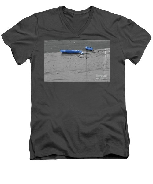 Two Kayaks Men's V-Neck T-Shirt