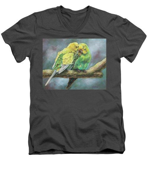 Two Of A Kind Men's V-Neck T-Shirt