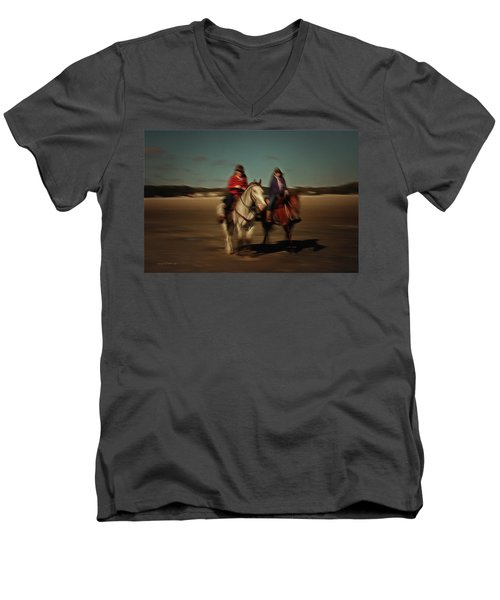 Two On The Road Men's V-Neck T-Shirt