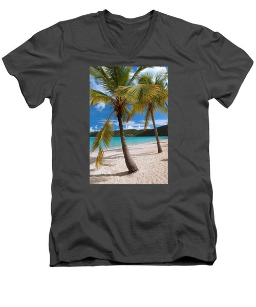 Two Palms Men's V-Neck T-Shirt